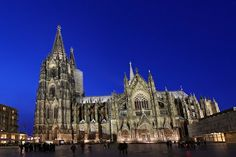 Cologne Cathedral (German: Kölner Dom), Cologne, Germany