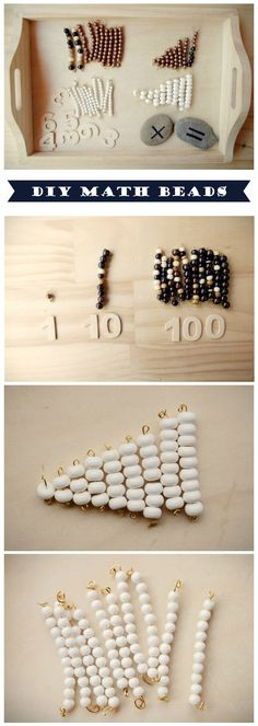 Hands-on math activity that provides a solid foundation of understanding for the little mathematicians in our lives…