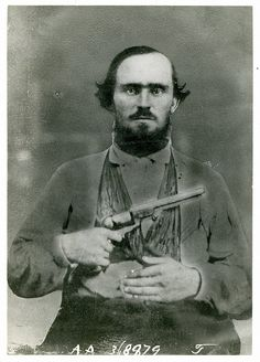 (c. 1861-1863) Joseph Howell Boydston, Farmer and Confederate Soldier, Company D, 17th Texas Infantry and direct descendant of Mayflower passenger, Stephen Hopkins, died in Little Rock, Arkansas during the winter of 1863 at the age of 27