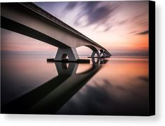 Morning Colors Canvas Print by Sus Bogaerts.  All canvas prints are professionally printed, assembled, and shipped within 3 - 4 business days and delivered ready-to-hang on your wall. Choose from multiple print sizes, border colors, and canvas materials. 60 x 40