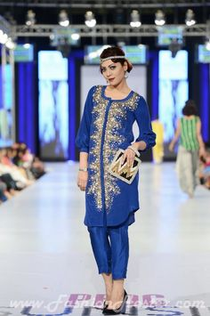 The Maheen Kardar label Karma Pink collection at PFDC Sunsilk Fashion Week 2013, Pakistani couture