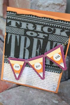 Halloween Card by Elizabeth Price (Stampin' Up)