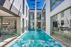 Real Build: Majestic, resort-style home in Sydney's north-west - The Interiors Addict Interior Architecture, Interior Design, Resort Style, House Goals, Best Vacations, Beautiful Homes, Real Estate, Building, Outdoor Decor