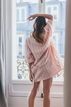 Pink Bodas Robe Nightwear