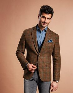 Tuxedo For Men, Double Breasted Suit, Suit Jacket, Blazer, Suits, Jackets, Fashion, Atelier, Down Jackets