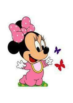 Minnie Mouse Drawing, Minnie Mouse Clipart, Minnie Mouse Cartoons, Mickey Mouse Drawings, Mickey Mouse Wallpaper, Mickey Mouse Y Amigos, Minnie Y Mickey Mouse, Minnie Mouse Baby Shower, Baby Mickey Mouse