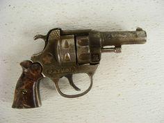 patrol cap gun   This old Hubley Patrol cap gun from the 1930s still functions and has ...