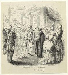 George Washington's wedding