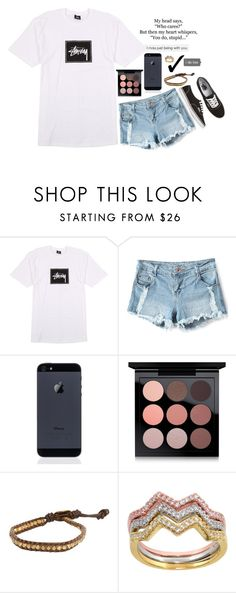 """you do, stupid"" by graciegirl2015 ❤ liked on Polyvore featuring Stussy, MAC Cosmetics, Chan Luu, Eternally Haute, Vans and graciejaysbestwork"