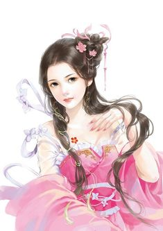 New Drawing Beautiful Fantasy Digital Paintings 39 Ideas Digital Art Anime, Beautiful Fantasy Art, Painting Of Girl, China Art, Creative Pictures, Fantastic Art, Fantasy Girl, Beauty Art, Up Girl