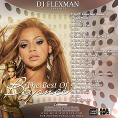 This cd contains all hits from Beyonce