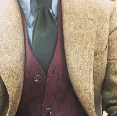 "sartoria-dalcuore: "" Donegal tweed Jacket for our friend @iacro_stanley """