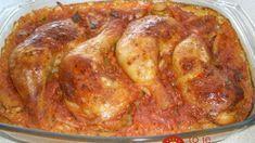 Stiehienka s ryžou z jedného pekáča: Už nikdy nebudem robiť ryžu a kurča zvlášť, toto je niečo fantastické! Pork, Meat, Chicken, Recipes, Kale Stir Fry, Ripped Recipes, Pork Chops, Cooking Recipes