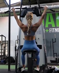 Here's a back workout you can try: Lat pull downs reps; Bent over rows reps; Pull up negatives reps; Pull ups as many reps as possible; Inverted Row, Weight Loss Photos, Shoulder Day, Weight Lifting, Weight Gain, Fit Black Women, Back Exercises, Rowing, Upper Body