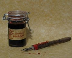 Magical Ink Recipes http://gaiasgifts.tumblr.com/post/3562876361/mo