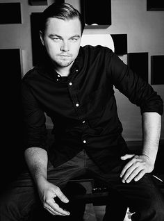 || Leonardo DiCaprio || #Leonardo #DiCaprio, #Actors, #Celebrities, #Photography, #Black + #White
