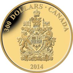 300 Canadian gold coin