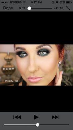 Jaclyn Hill - envious mermaid makeup tutorial