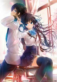 pareja anime