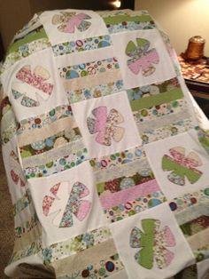second quilt top