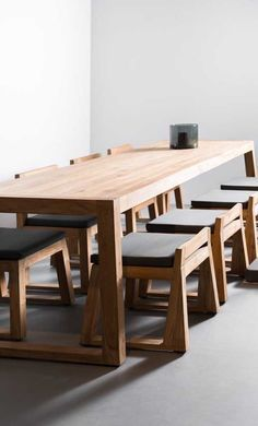 The Executive - Conference Table from Reclaimed Oak and Modern Industrial Metal Base Dinning Table, Patio Table, Wood Table, Table And Chairs, Dining Chairs, Modern Wood Furniture, Table Furniture, Home Furniture, Furniture Design