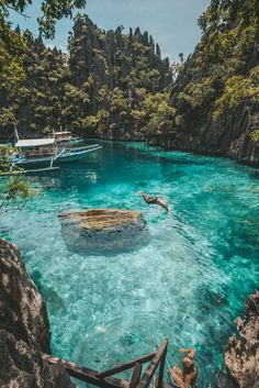 Island Hopping in the Philippines by lifeoverstuff. - Island Hopping in the Philippines by lifeoverstuff. Vacation Places, Dream Vacations, Vacation Spots, Beach Vacations, The Places Youll Go, Cool Places To Visit, Philippines Travel Guide, Philippines Palawan, The Philippines