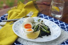 Egg, Asparagus & Spinach Medley (light meal you can enjoy for any meal) - Ultra Lite
