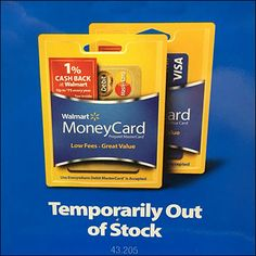This freestanding Money Card hooked display comes complete including a concept where the Temporary Out-of-Stock Message Is Permanent. Money Cards, Walmart, Christmas Gifts, Messages, Display, Mini, Hooks, Retail, Butterfly