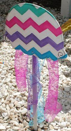 Under the Sea Birthday Party | Little Mermaid Birthday Party | Girl's Birthday Ideas | DIY Turquoise, Pink, Purple, Blue Chevron Oyster