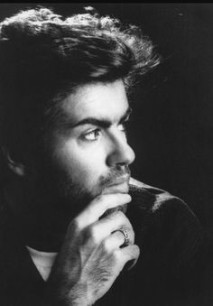 Serious George Michael