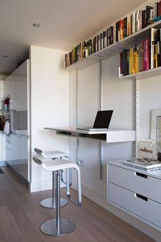 Workspace or kitchen bar? Just remove the laptop