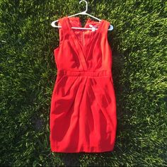 Red formal dress! ❣ Worn once. Can be dressed down or dressed up. Make me an offer! ✂️ Forever 21 Dresses