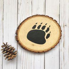 https://www.etsy.com/listing/248179770/bear-paw-wood-slice-woodland-bear