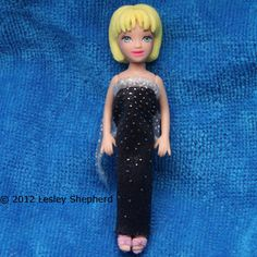 Make an Easy Evening Dress for Any Size or Shape of Doll