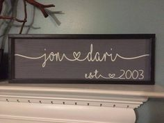 7x24 frame shown Family Signs, Connection, Names, Heart, Design, Home Decor, Decoration Home, Room Decor