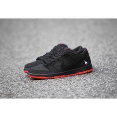 free shipping 388b1 12f38 Cheap Nike SB Dunk Low TRD QS Pigeon Men Black Red Sale