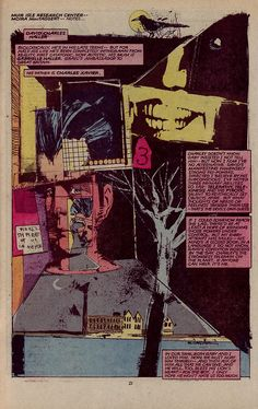 New Mutants by Bill Sienkiewicz.