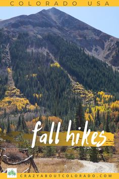 Get a sneak peak into trails that offer more solitude along with splendid scenery in Colorado's popular fall season. Colorado Usa, Colorado Hiking, Cool Places To Visit, Places To Travel, Travel Destinations, Snowboard, Hiking Tattoo, Denver Travel, Rocky Mountain National
