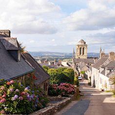 Locronan, Bretagne: een van de mooiste dorpjes van Frankrijk
