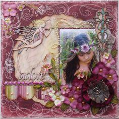 Adore **Dusty Attic** - Scrapbook.com Bo Bunny Press - Jazmyne Collection