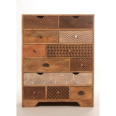 Commode design multi tiroirs bois imprimé http://www.sweetmango.fr/fr/commodes/229-commode-design-multi-tiroirs-bois-imprime.html
