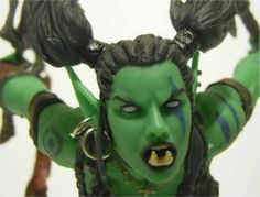 Orc Rogue Garona Action Figure Review