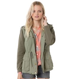 O'Neill ZELDA JACKET - GREEN