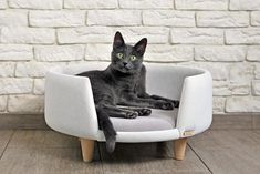 Nook is a modern, hand-made cat and small dog furniture. Ideal for rest and fun. Created for love of animals and beautiful interiors.  The furniture is upholstered with a clean, abrasion-resistant and breathable fabric that meets the standards of health and the environment (according to #CatFurniture