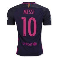 FC Barcelona Away 2016-17 Season #10 MESSI Soccer Jersey