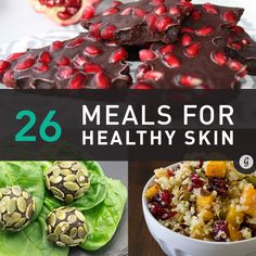 The new year is all about looking and feeling your best so why not take better care of your skin with these tips from @greatist: http://greatist.com/health/meals-for-healthy-skin