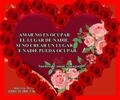 SUEÑOS DE AMOR Y MAGIA: Amar no es ocupar