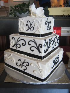 Wedding Cake From Cramers Bakery At Chauncey Conference Center Bridal Event In Princeton NJ