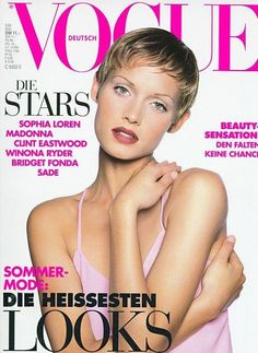Vogue Germany May 1993 - Amber Valletta
