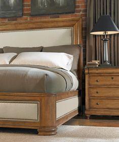 Bernhardt Bon Maison Bed #bedroom